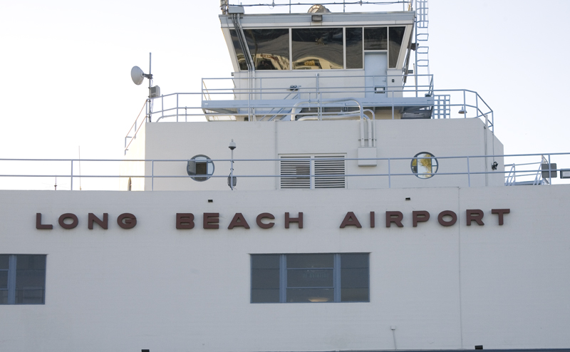 1290 Long Beach - the airport facade looks like a ship