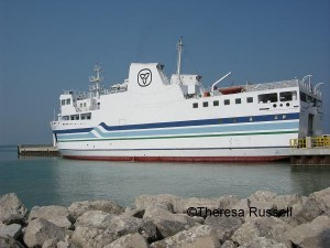 The ferry operates from Leamington/Kingsville ON and Sandusky OH