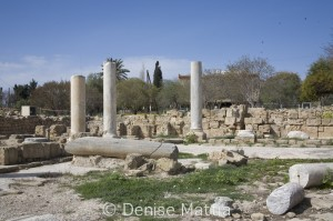 Cyprus The ruins at Pafos4745