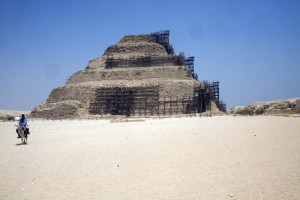 010 Egypt 4368Sakkara-step pyramid 3 Dynasty for Djoser by Imhotep
