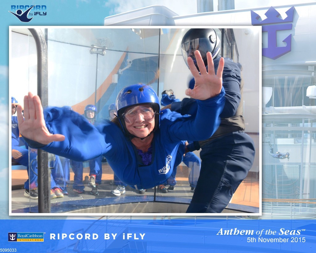 Ripcord on Oasis of the Seas