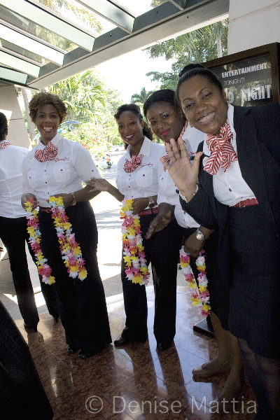 1217 Jamaica bidding farewell at Sandals Negril